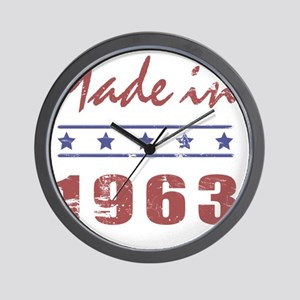 Made In 1963 Wall Clock