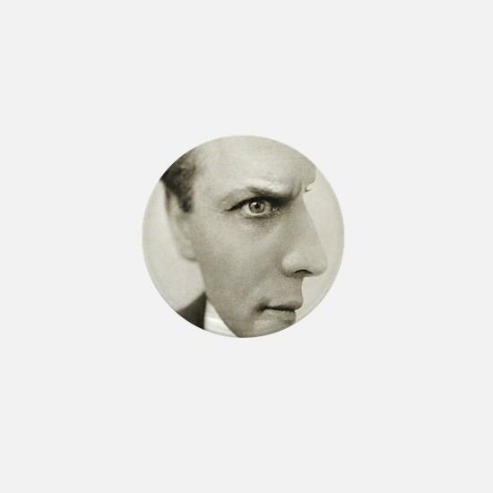 Houdini Optical Illusion Vertical Mini Button