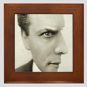 Houdini Optical Illusion Vertical Framed Tile