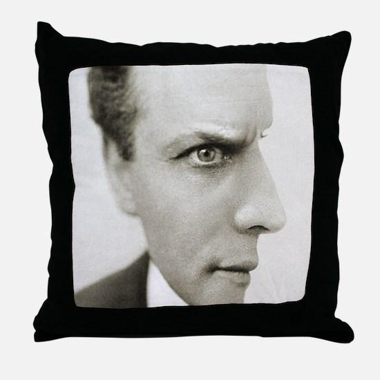 Houdini Optical Illusion Vertical Throw Pillow