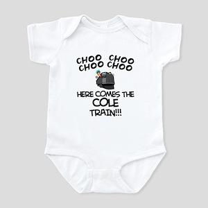 Cole Train Infant Bodysuit