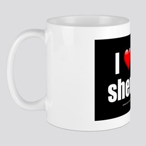 I Love My Shemale wallpeel Mug