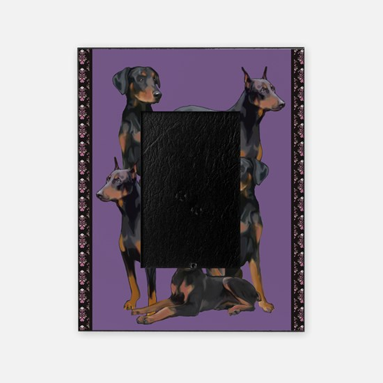 doberman area rug Picture Frame
