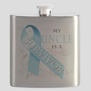 My Uncle is a Survivor Flask
