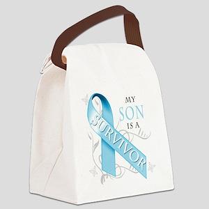 My Son is a Survivor Canvas Lunch Bag