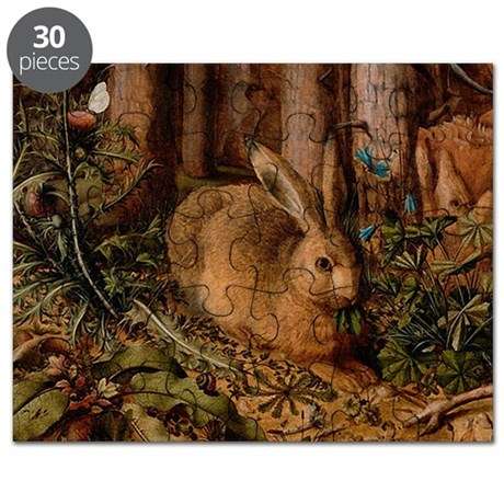 Rabbit In The Woods Puzzle