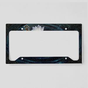 OM Lotus License Plate Holder