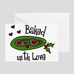 Baked With Love Greeting Card