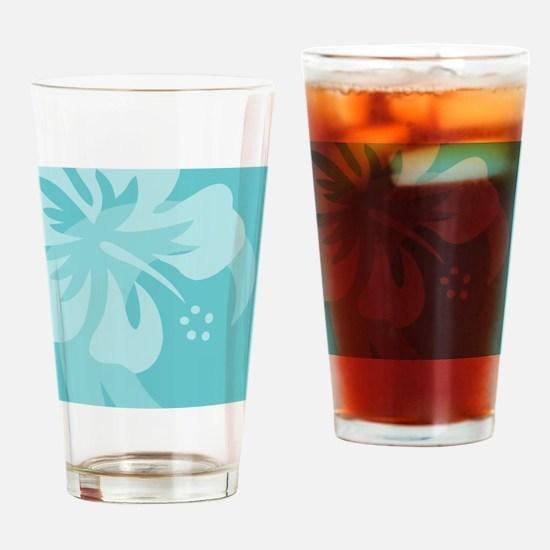Aqua Puzzle Drinking Glass