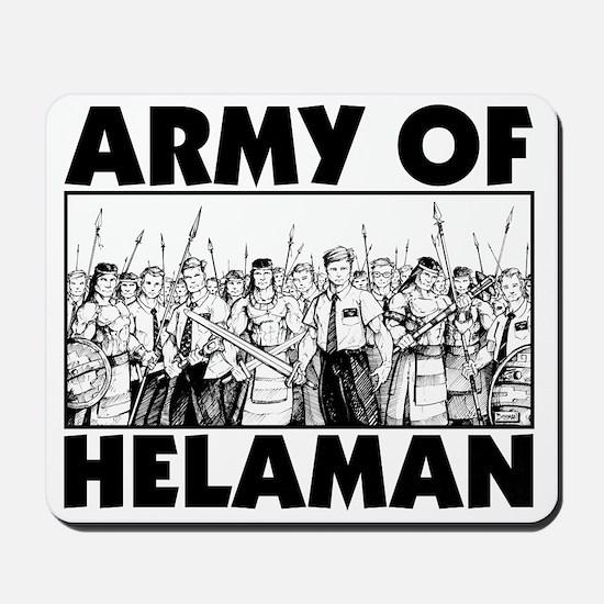 Army of Helaman Mousepad