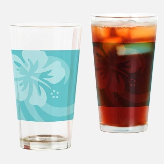 Aqua Jewelry Case Drinking Glass