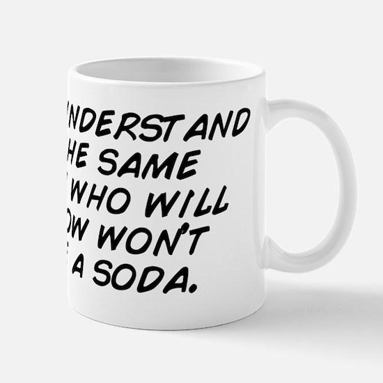 I don't understand how the same pe Mug