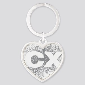 CX Heart Keychain