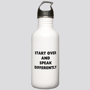 RON SWANSON QUOTE Water Bottle