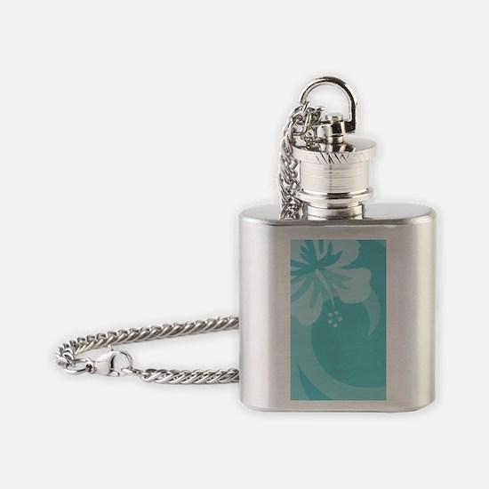 Aqua Galaxy S3 Case Flask Necklace