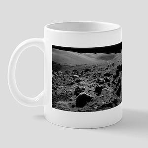 Astronaut and Lunar Rover, Apollo 17 Mug