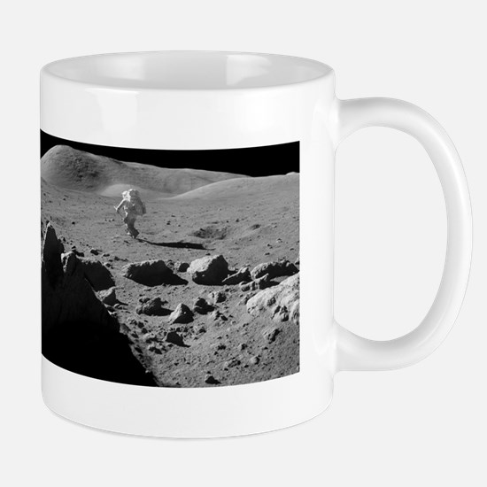 Astronaut and Lunar Rover, Apollo 17 Mug