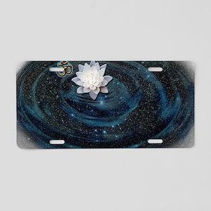 OM Lotus Aluminum License Plate