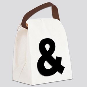 Ampersand Canvas Lunch Bag