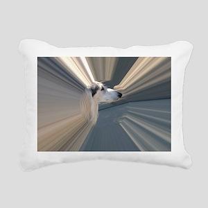 SALUKI 2 - TUNNEL HEAD Rectangular Canvas Pillow