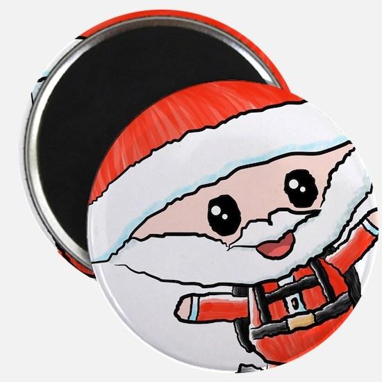 Skydiving Santa Magnets