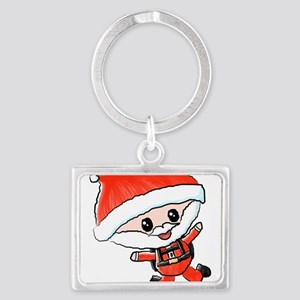 Skydiving Santa Keychains