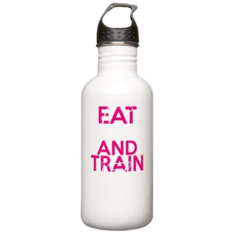 Eat Clean Train Dirty Stainless Water Bottle 1.0L