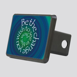 Be the Change Rectangular Hitch Cover
