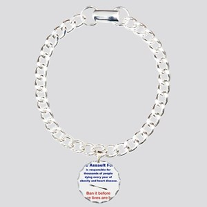 THE ASSAULT FORK... Charm Bracelet, One Charm