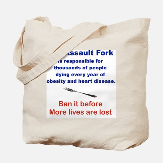 THE ASSAULT FORK... Tote Bag