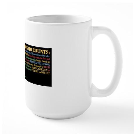 The Critic Large Mug