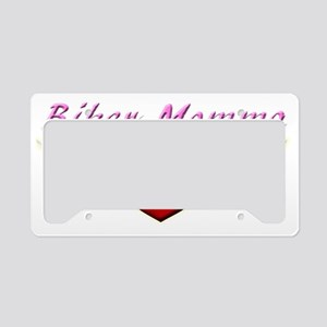 BIKER MOMMA License Plate Holder