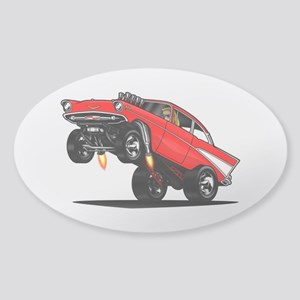 57 Gasser Wheelie Sticker