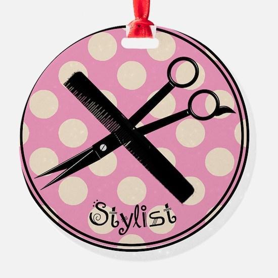 stylist pendant 2013 pink Ornament