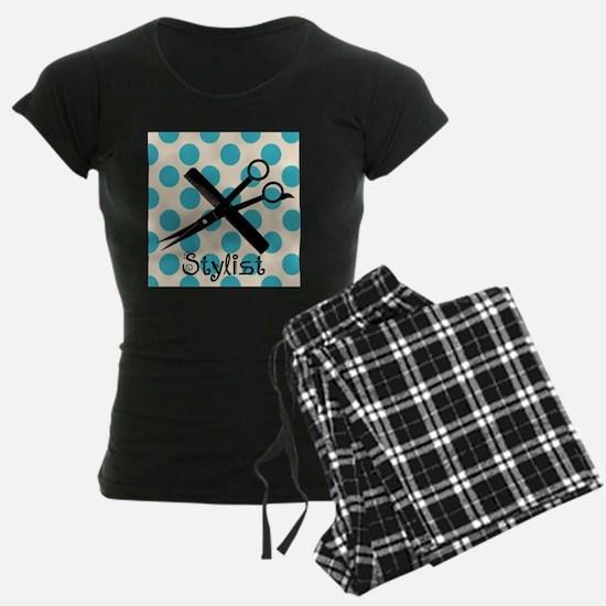 Stylist Square BLUE PENDANT Pajamas