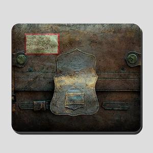 ANTIQUE steamer TRUNK Mousepad