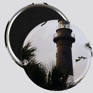 Hunting Island Lighthouse Magnet