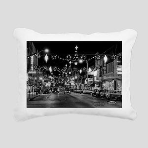 1970 Nov 24-ML- Xmas lig Rectangular Canvas Pillow