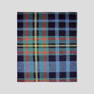MacLellan Tartan Throw Blanket