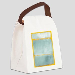 ROTHKO YELLOW BORDER Canvas Lunch Bag