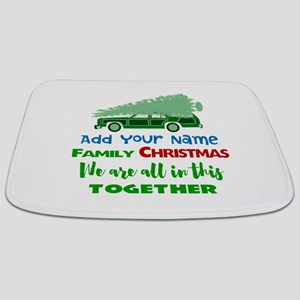 Personalized Griswold Christmas Bathmat