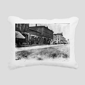 5x7 Glass Plate- Street  Rectangular Canvas Pillow