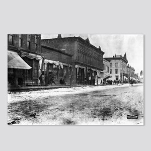 5x7 Glass Plate- Street S Postcards (Package of 8)