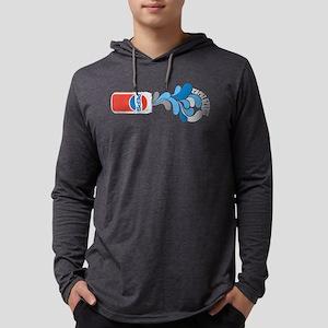 Pepsi Spirit Can Mens Hooded Shirt