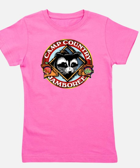 Camp Country PNG Logo Girl's Tee