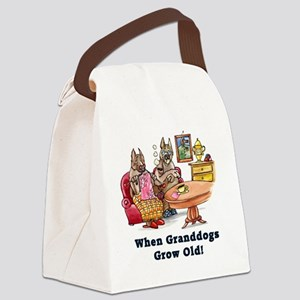 When Granddogs Grow Old Canvas Lunch Bag