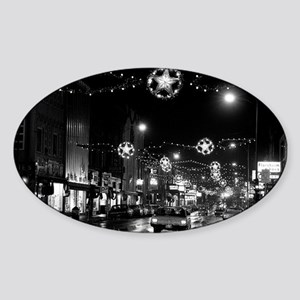 1966 Nov 24-ML-lights nite Sticker (Oval)