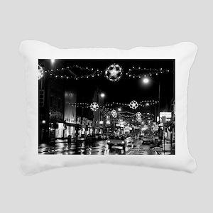 1966 Nov 24-ML-lights ni Rectangular Canvas Pillow