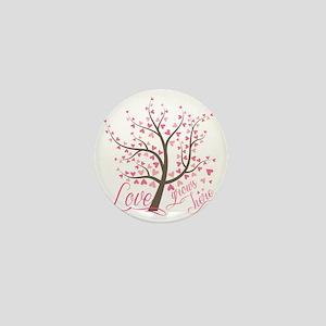 Love grows here Mini Button