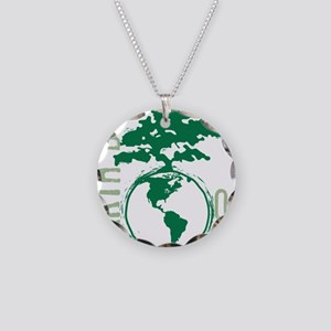 Earth Day 04/22 Necklace Circle Charm